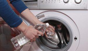 شستشوی لاستیک ماشین لباسشویی با سرکه