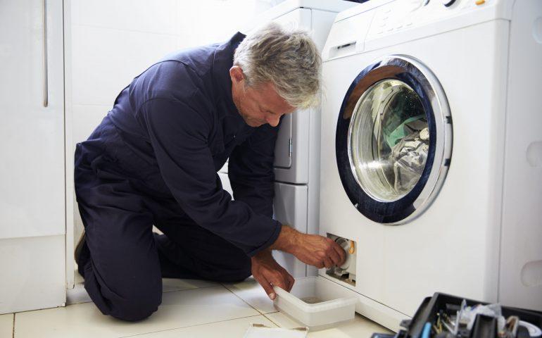 تمیز کردن لباسشویی